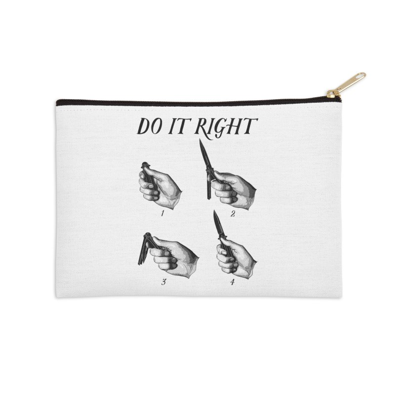 Do It Right Accessories Zip Pouch by Fat.Max