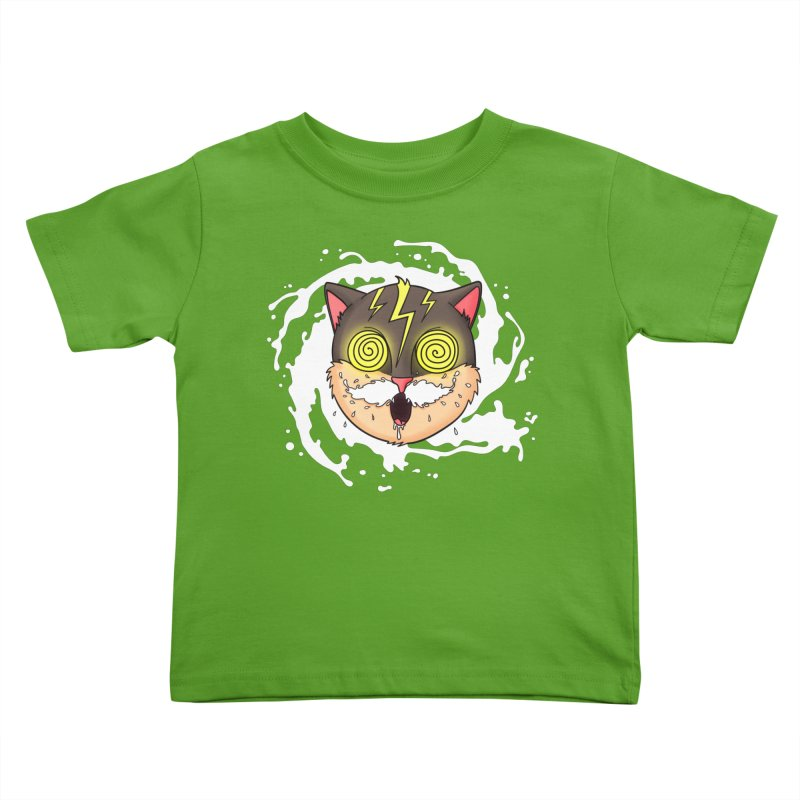 MILK MUSTACHE Kids Toddler T-Shirt by Fat.Max