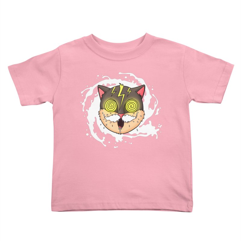 MILK MUSTACHE Kids Toddler T-Shirt by Fat.Max