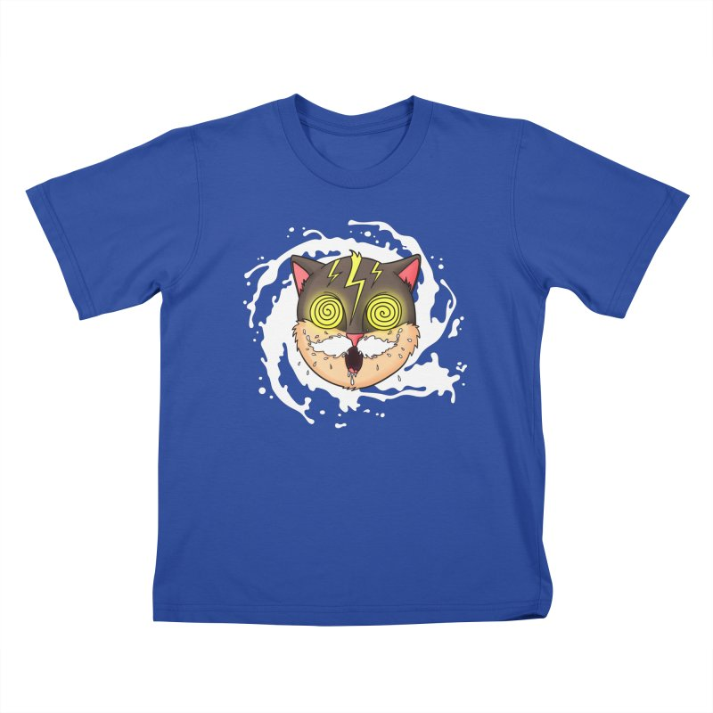 MILK MUSTACHE Kids T-Shirt by Fat.Max