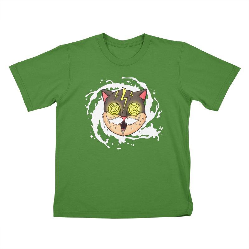 MILK MUSTACHE Kids T-shirt by Fat.Max