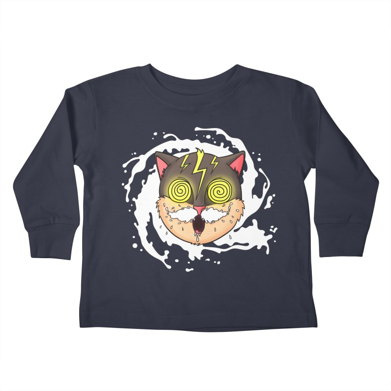 MILK MUSTACHE Kids Toddler Longsleeve T-Shirt by Fat.Max