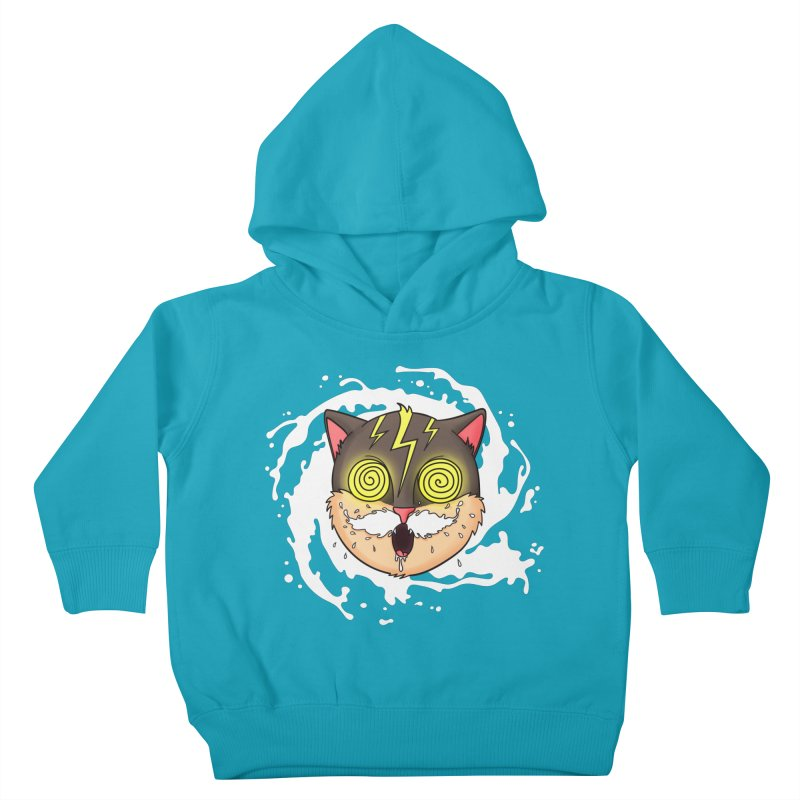 MILK MUSTACHE Kids Toddler Pullover Hoody by Fat.Max