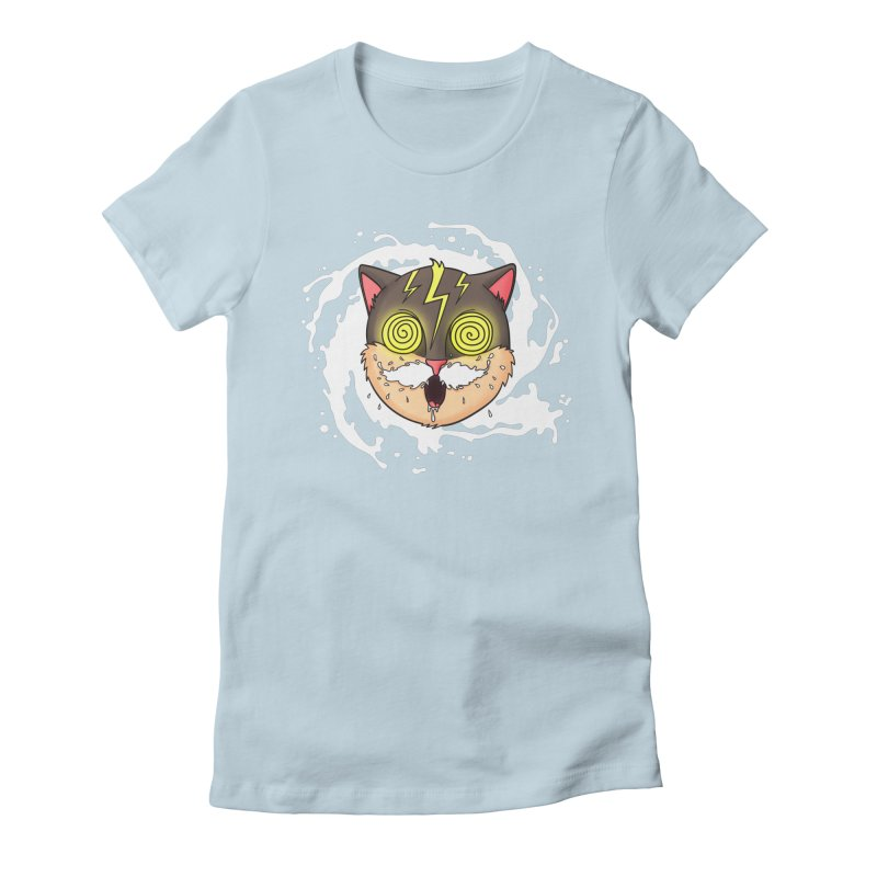 MILK MUSTACHE Women's Fitted T-Shirt by Fat.Max