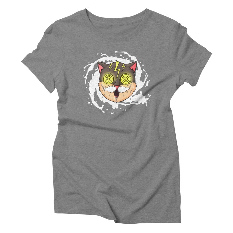 MILK MUSTACHE Women's Triblend T-Shirt by Fat.Max