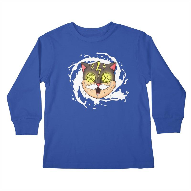 MILK MUSTACHE Kids Longsleeve T-Shirt by Fat.Max