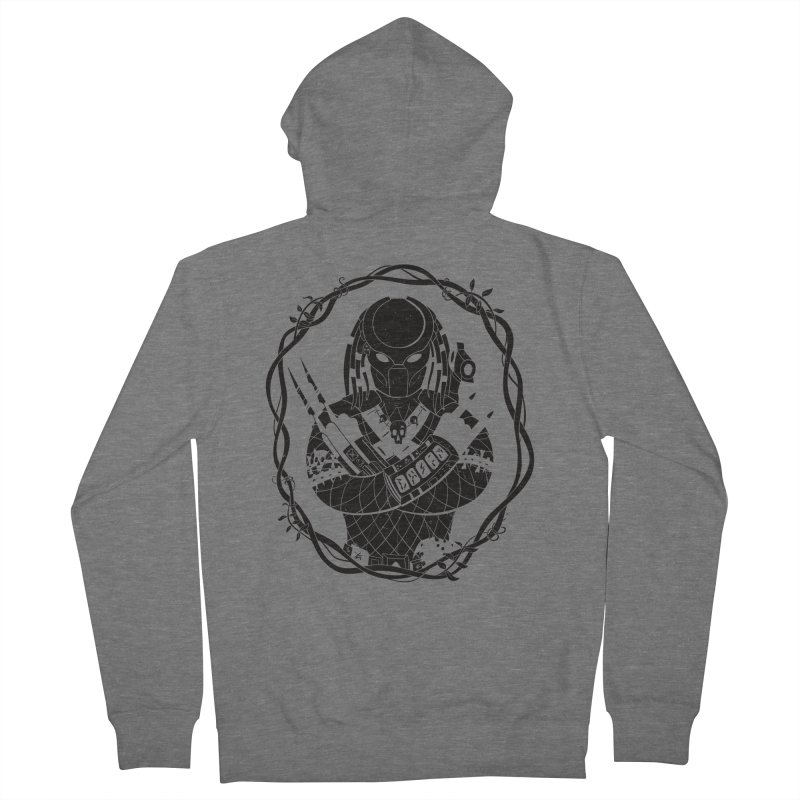 I WANNA ROCK THIS JUNGLE! Men's French Terry Zip-Up Hoody by Fat.Max