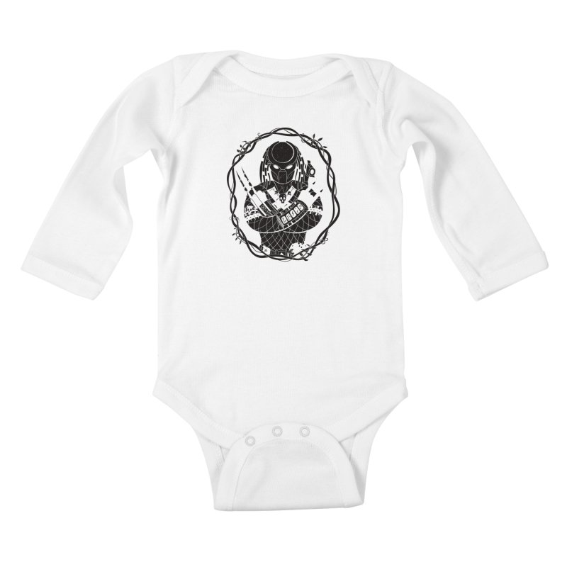 I WANNA ROCK THIS JUNGLE! Kids Baby Longsleeve Bodysuit by Fat.Max