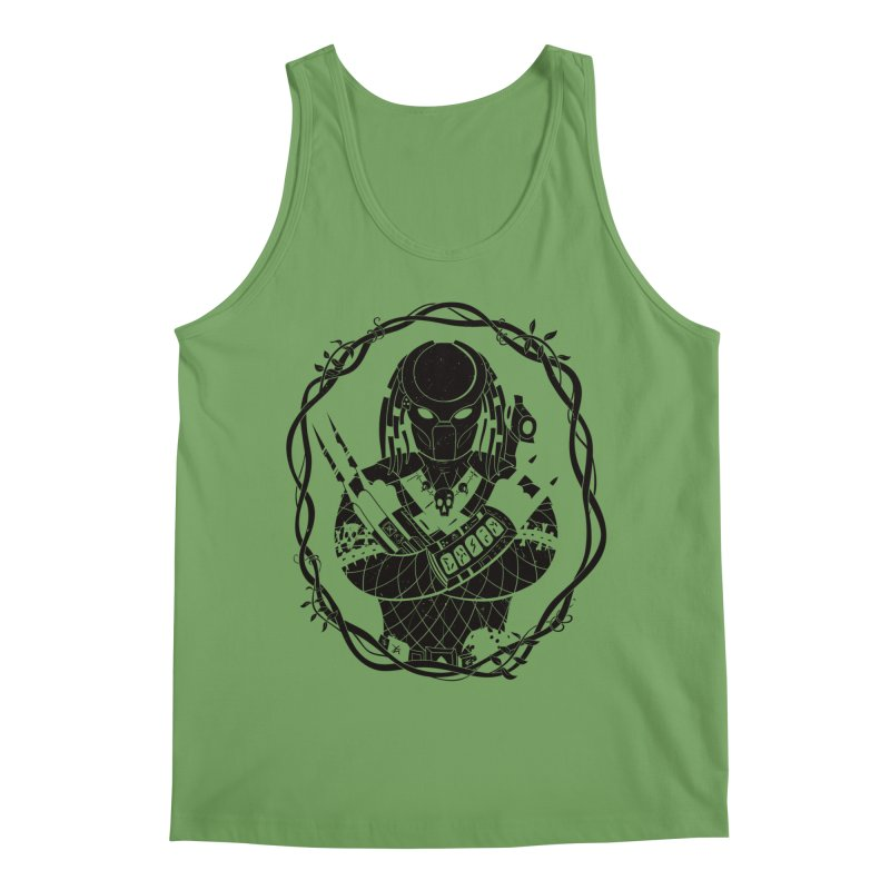 I WANNA ROCK THIS JUNGLE! Men's Tank by Fat.Max