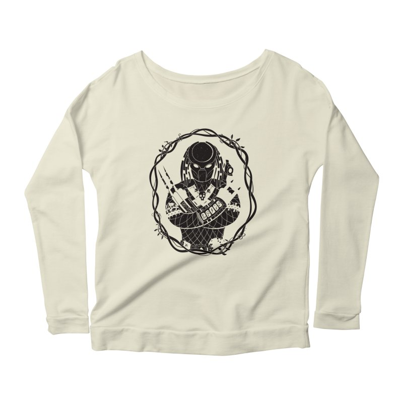 I WANNA ROCK THIS JUNGLE! Women's Longsleeve Scoopneck  by Fat.Max