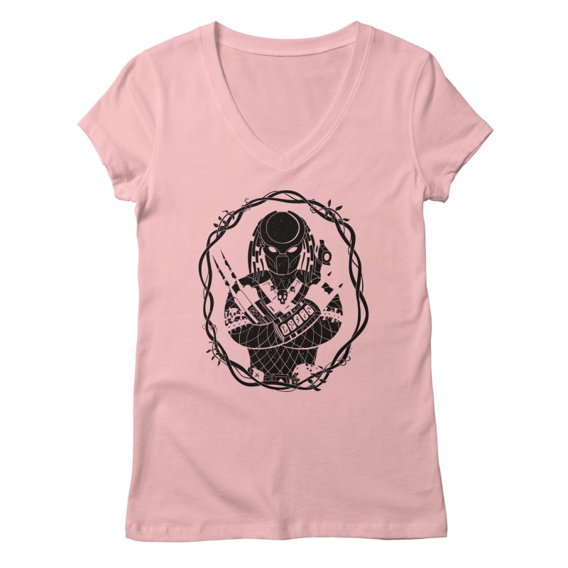 I WANNA ROCK THIS JUNGLE! Women's V-Neck by Fat.Max
