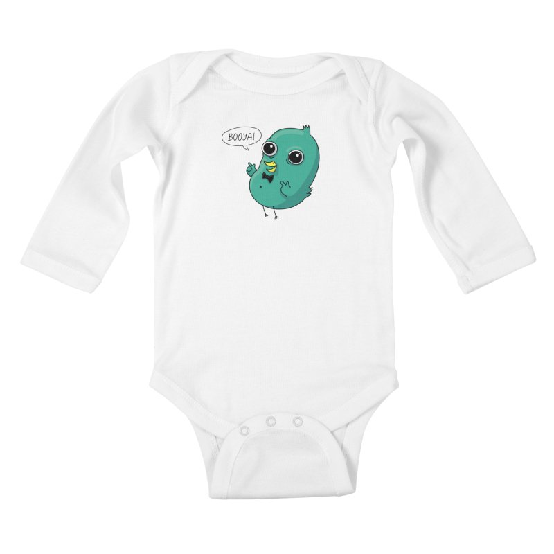 BOOYA! Kids Baby Longsleeve Bodysuit by Fat.Max