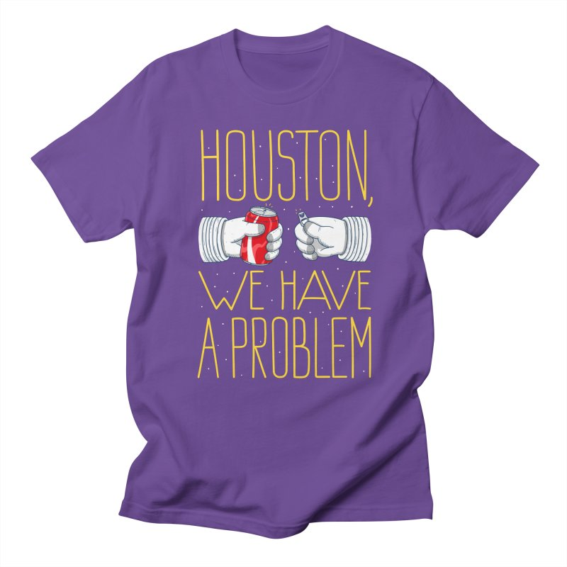 HOUSTON, WE HAVE A PROBLEM Men's Regular T-Shirt by Fat.Max