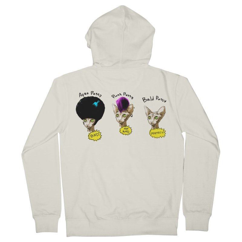 ABOUT A PUSSY Women's Zip-Up Hoody by Fat.Max