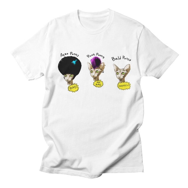 ABOUT A PUSSY Men's Regular T-Shirt by Fat.Max