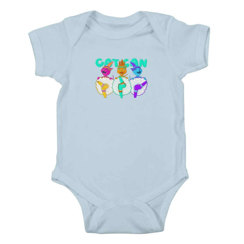 CATCAN Kids Baby Bodysuit by Fat.Max