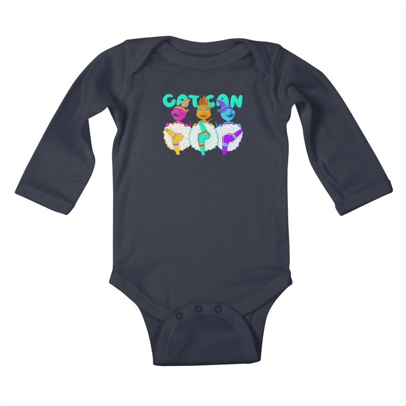 CATCAN Kids Baby Longsleeve Bodysuit by Fat.Max
