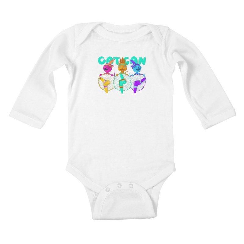 CATCAN Kids Baby Longsleeve Bodysuit by Fat.Max