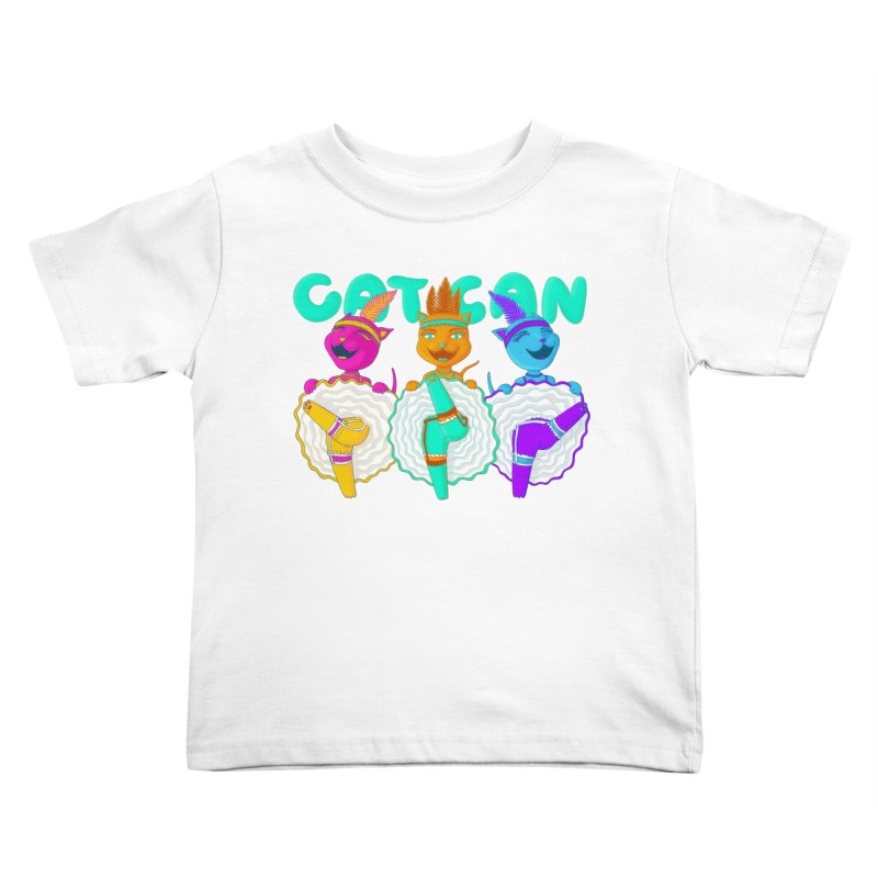 CATCAN Kids Toddler T-Shirt by Fat.Max