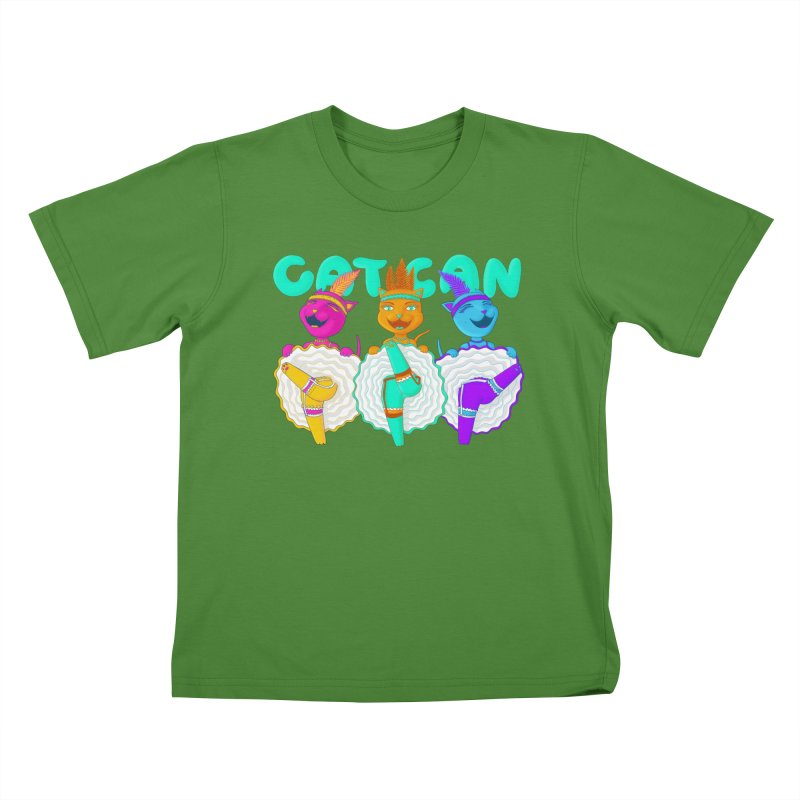 CATCAN Kids T-shirt by Fat.Max