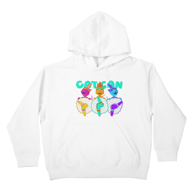 CATCAN Kids Pullover Hoody by Fat.Max