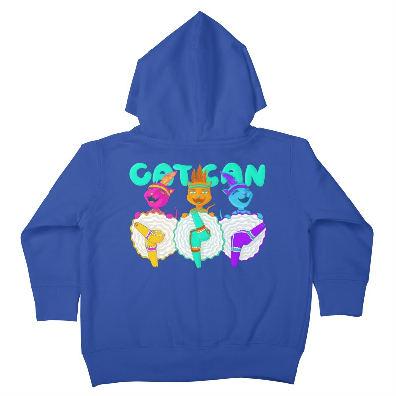 CATCAN Kids Toddler Zip-Up Hoody by Fat.Max