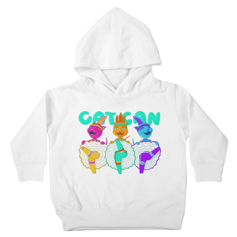 CATCAN Kids Toddler Pullover Hoody by Fat.Max