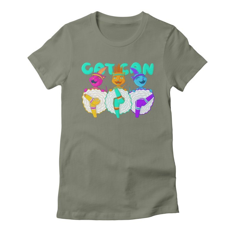 CATCAN Women's Fitted T-Shirt by Fat.Max