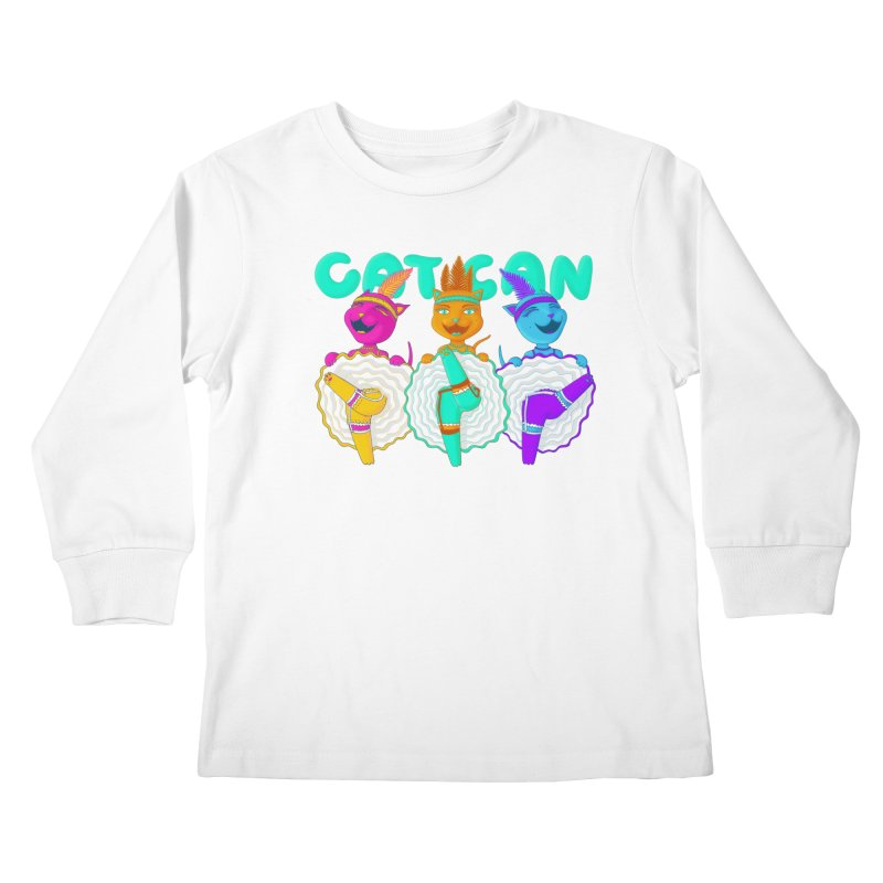 CATCAN Kids Longsleeve T-Shirt by Fat.Max