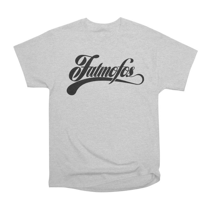Fatmofos Classic Light T-Shirt Women's Heavyweight Unisex T-Shirt by Fatmofos