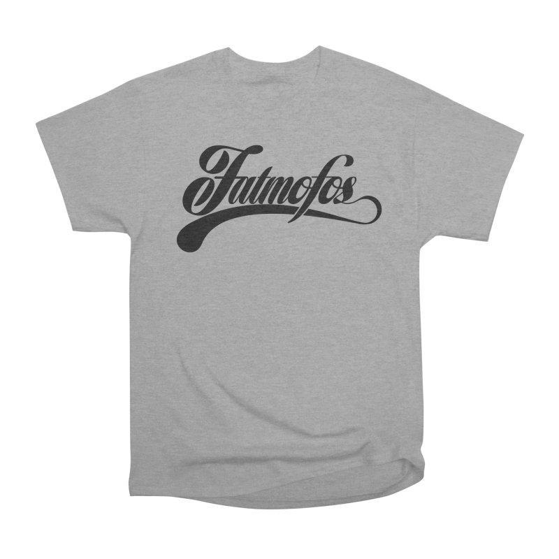 Fatmofos Classic Light T-Shirt Men's Heavyweight T-Shirt by Fatmofos