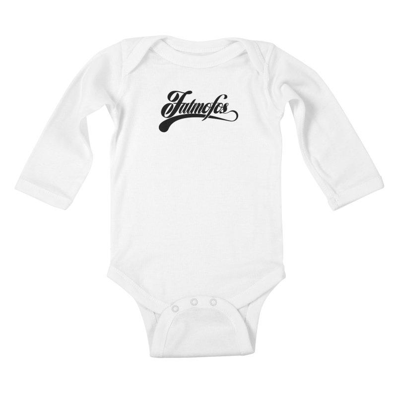 Fatmofos Classic Light T-Shirt Kids Baby Longsleeve Bodysuit by Fatmofos