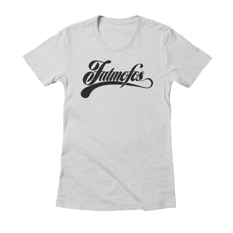 Fatmofos Classic Light T-Shirt Women's T-Shirt by Fatmofos
