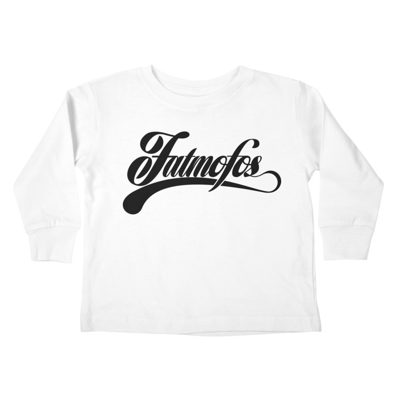 Fatmofos Classic Light T-Shirt Kids Toddler Longsleeve T-Shirt by Fatmofos