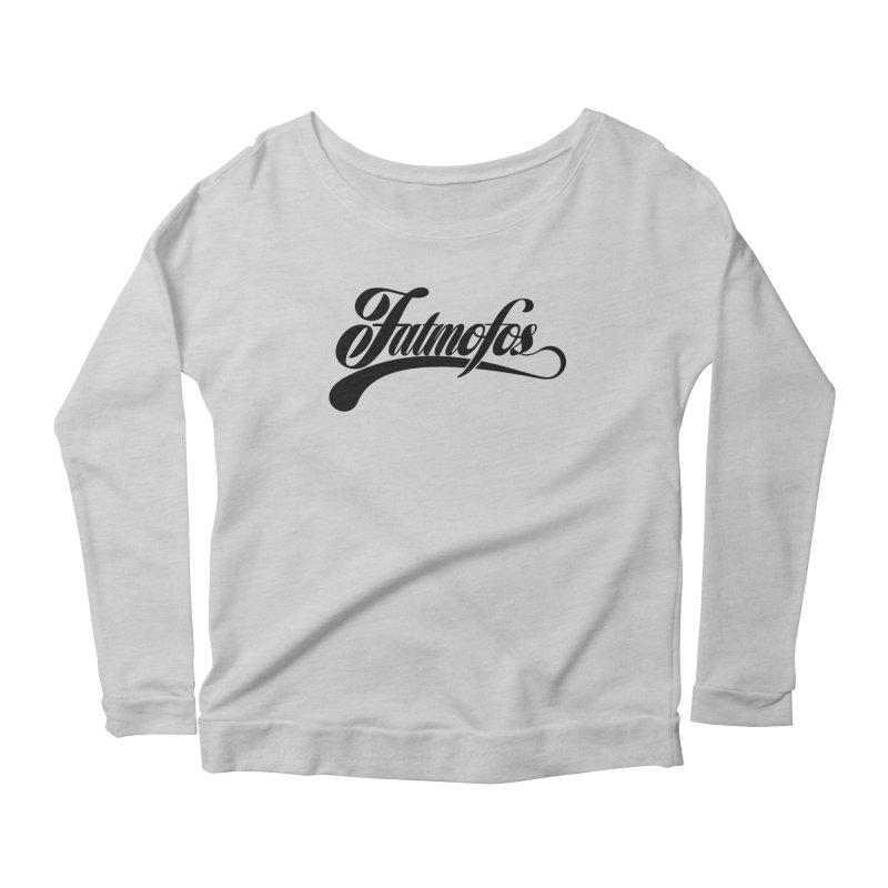 Fatmofos Classic Light T-Shirt Women's Longsleeve Scoopneck  by Fatmofos