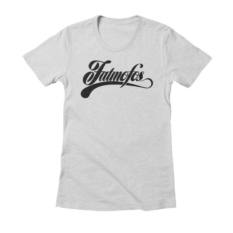 Fatmofos Classic Light T-Shirt Women's Fitted T-Shirt by Fatmofos
