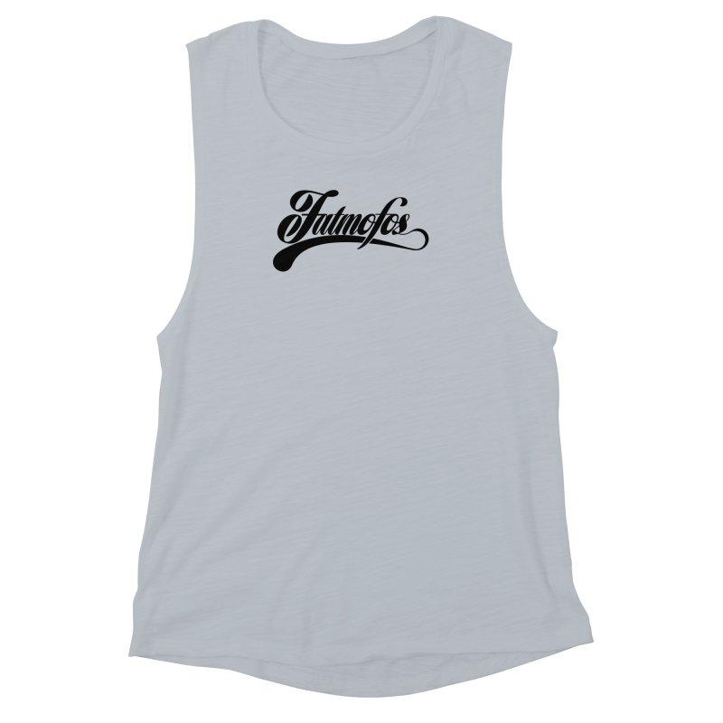 Fatmofos Classic Light T-Shirt Women's Muscle Tank by Fatmofos