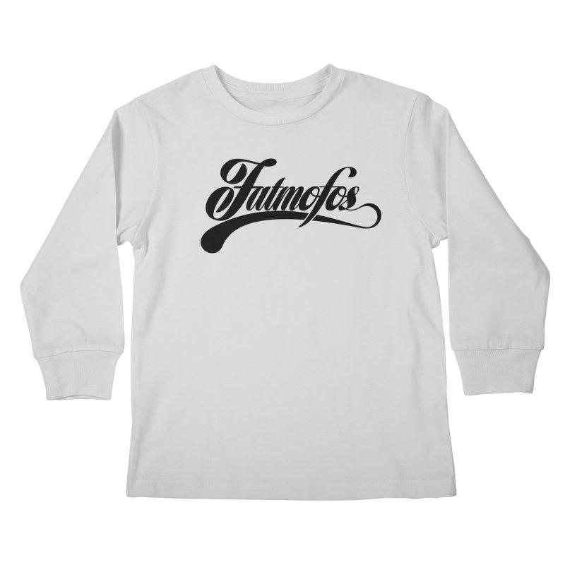 Fatmofos Classic Light T-Shirt Kids Longsleeve T-Shirt by Fatmofos