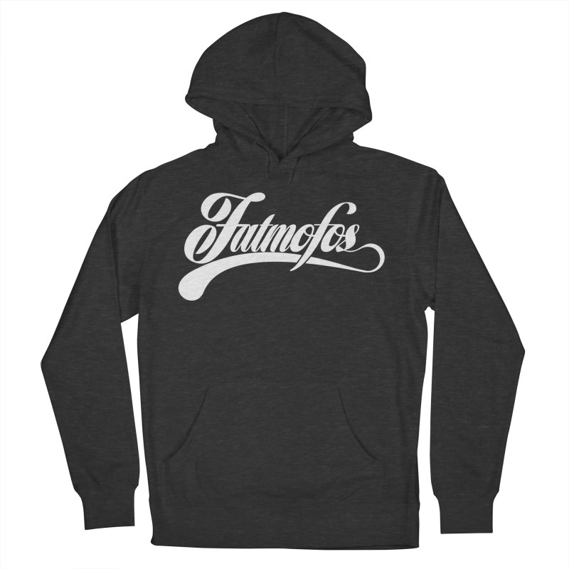 Fatmofos Classic Dark T-Shirt Men's French Terry Pullover Hoody by Fatmofos