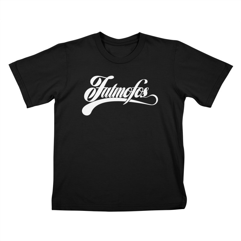 Fatmofos Classic Dark T-Shirt Kids T-Shirt by Fatmofos
