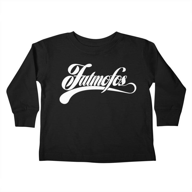 Fatmofos Classic Dark T-Shirt Kids Toddler Longsleeve T-Shirt by Fatmofos