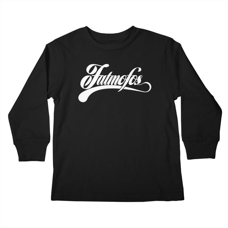Fatmofos Classic Dark T-Shirt Kids Longsleeve T-Shirt by Fatmofos