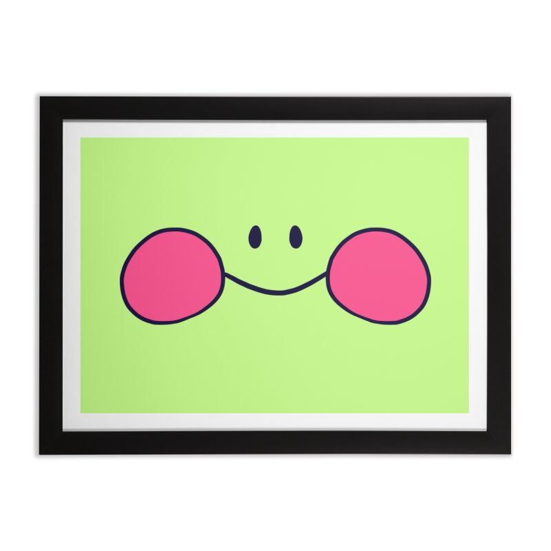 frogface Home Framed Fine Art Print by CoolStore