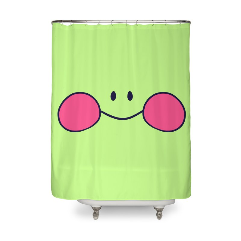 frogface Home Shower Curtain by CoolStore