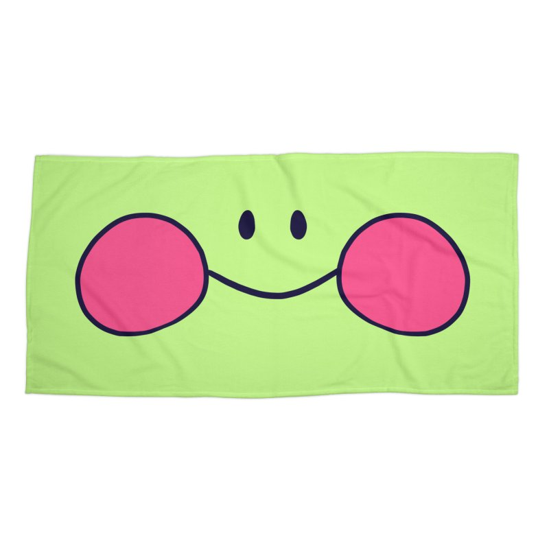 frogface Accessories Beach Towel by CoolStore
