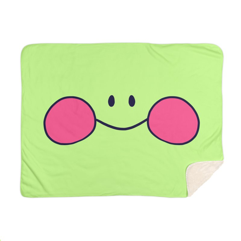 frogface Home Blanket by CoolStore