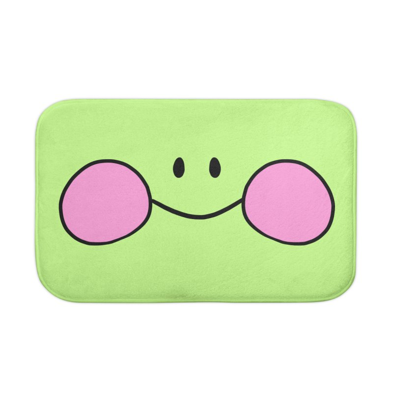 frogface Home Bath Mat by CoolStore