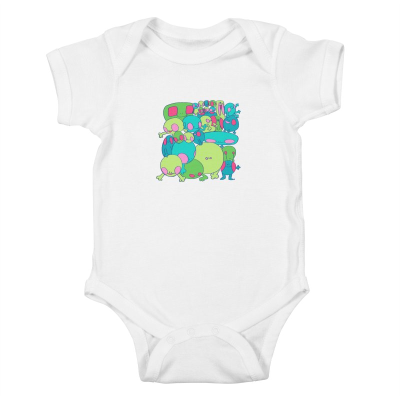 the clan Kids Baby Bodysuit by CoolStore