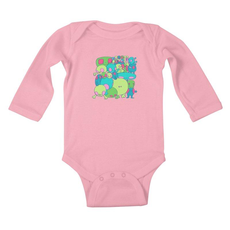 the clan Kids Baby Longsleeve Bodysuit by CoolStore