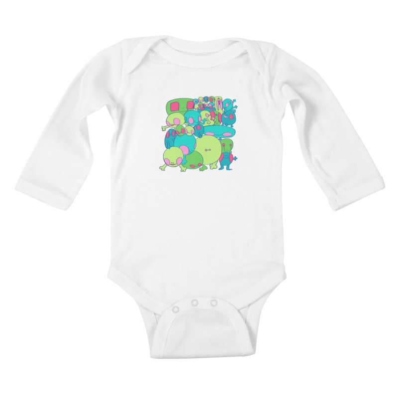 the clan Kids Baby Longsleeve Bodysuit by CoolStore